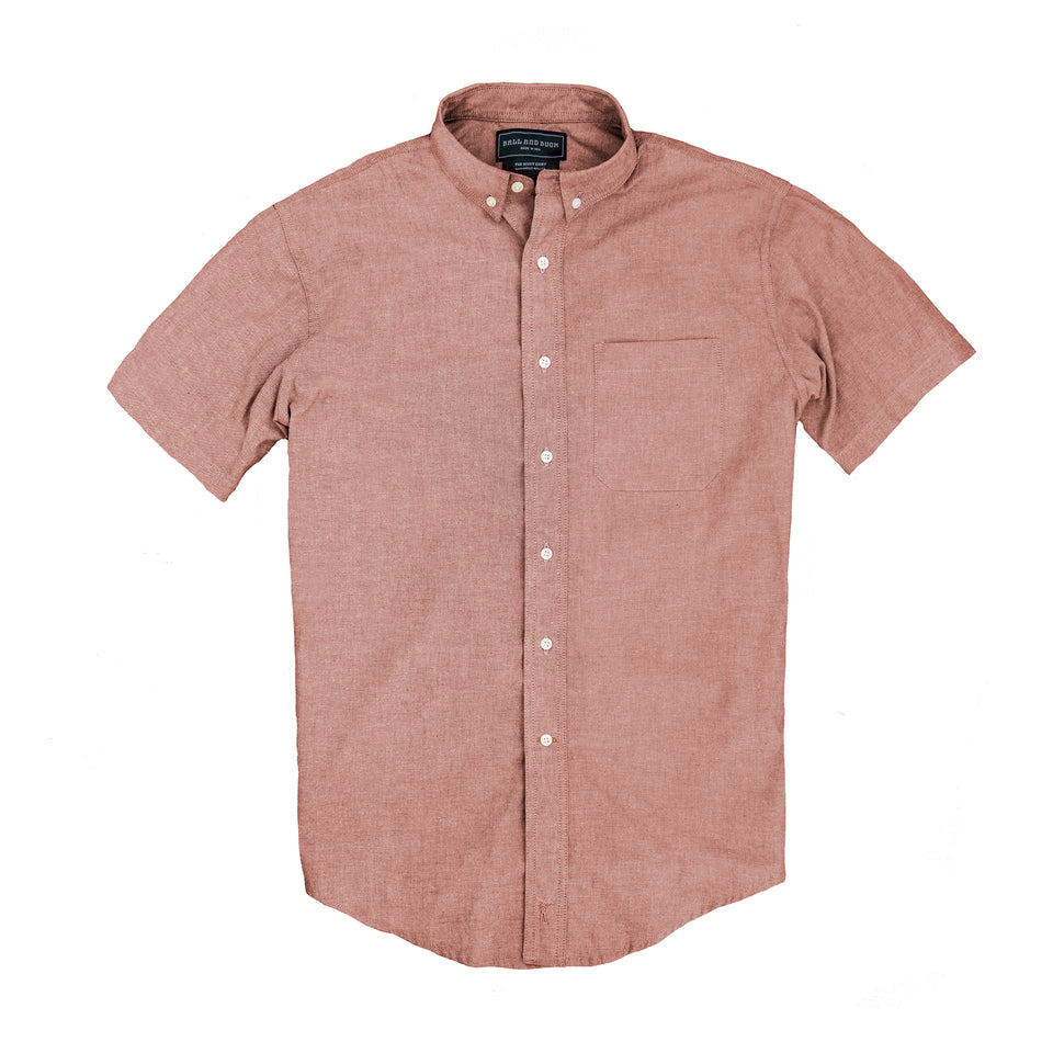 Scout Shirt - Short Sleeve Mesa Chambray