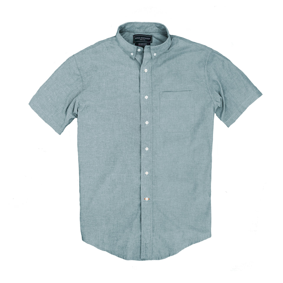 Scout Shirt - Short Sleeve Slickrock Chambray - Ball and Buck