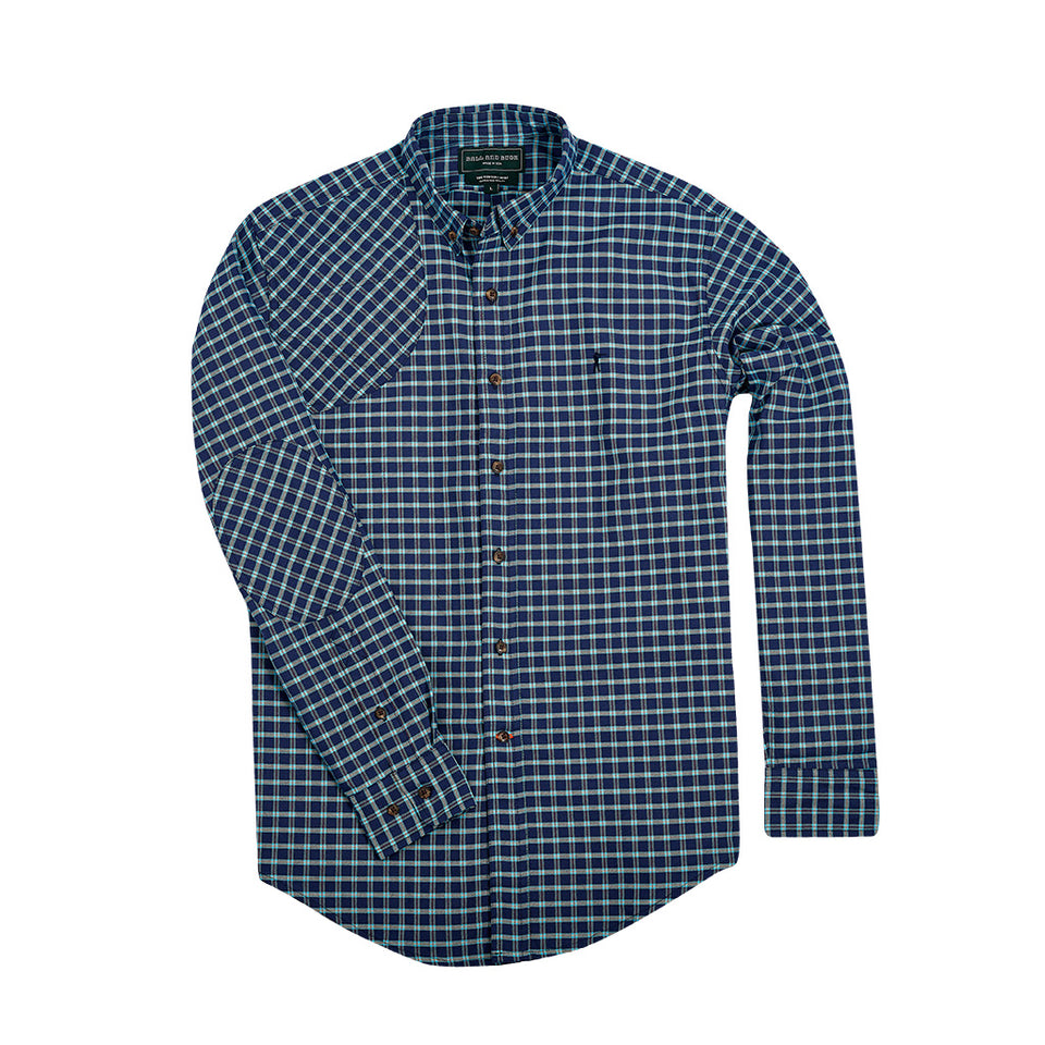 Hunters Shirt 1.0 - Teal - Ball and Buck