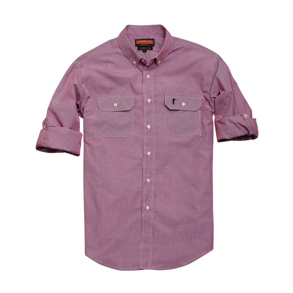Anglers Shirt - Missoula Check - Ball and Buck