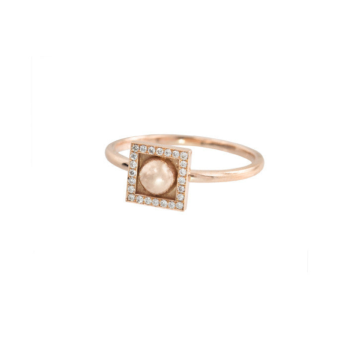 Bead Stud Ring