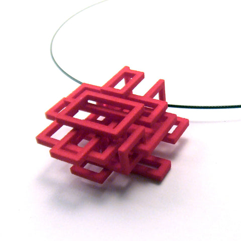 [SharingDiscount] Small Squared Pendant