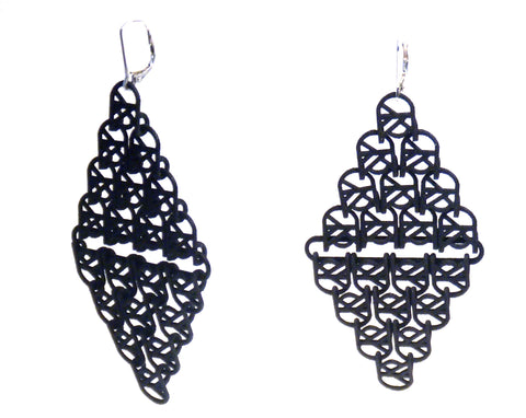 U Link II Earrings - Melissa Borrell Design