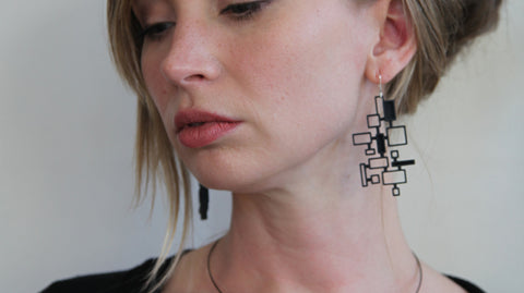 Mosaic Earrings - Melissa Borrell Design