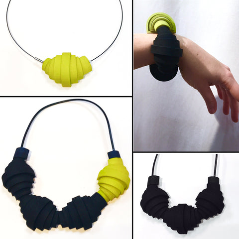 Collapse-Expand Variable Bracelet/Pendant/Necklace - Melissa Borrell Design