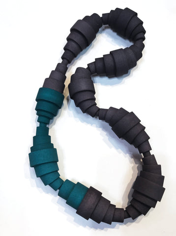 Collapse-Expand-Connect Necklace/Choker - Melissa Borrell Design