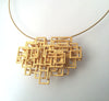 Small Open Square Pendant