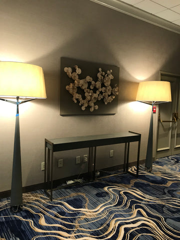 Fractal Nature Wall Panels - Canal Marriott (New Orleans, LA)