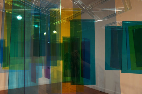 Prismatic Installation at Lawndale Art Center - Melissa Borrell Design