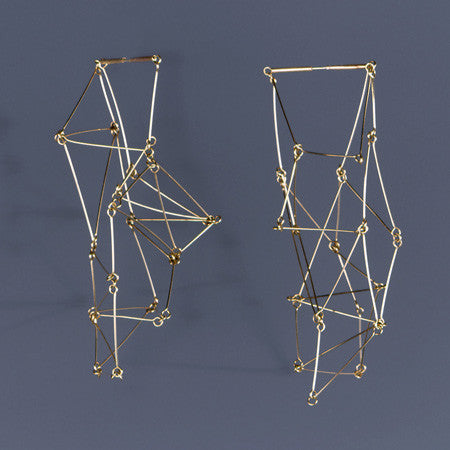 Gego Earrings - Melissa Borrell Design