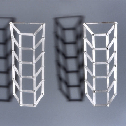 Grid Earrings - Melissa Borrell Design