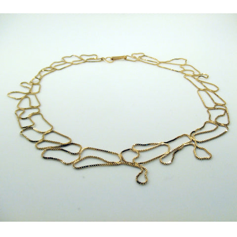 Narrow Topography Necklace