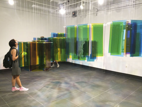 Prismatic at Flex Space Gallery - Melissa Borrell Design