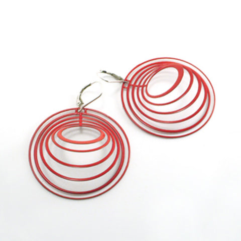 Small Concentric Earrings - Melissa Borrell Design