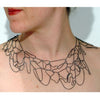 Wide Topography Necklace - Melissa Borrell Design