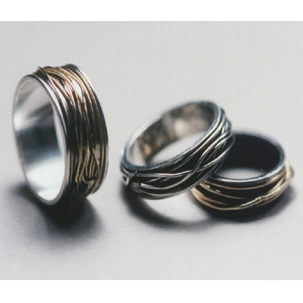 Narrow Wrapped Ring - Melissa Borrell Design