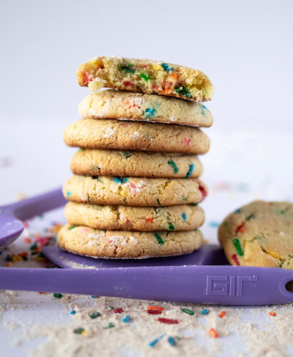 Quick and Easy Confetti Sugar Cookies!