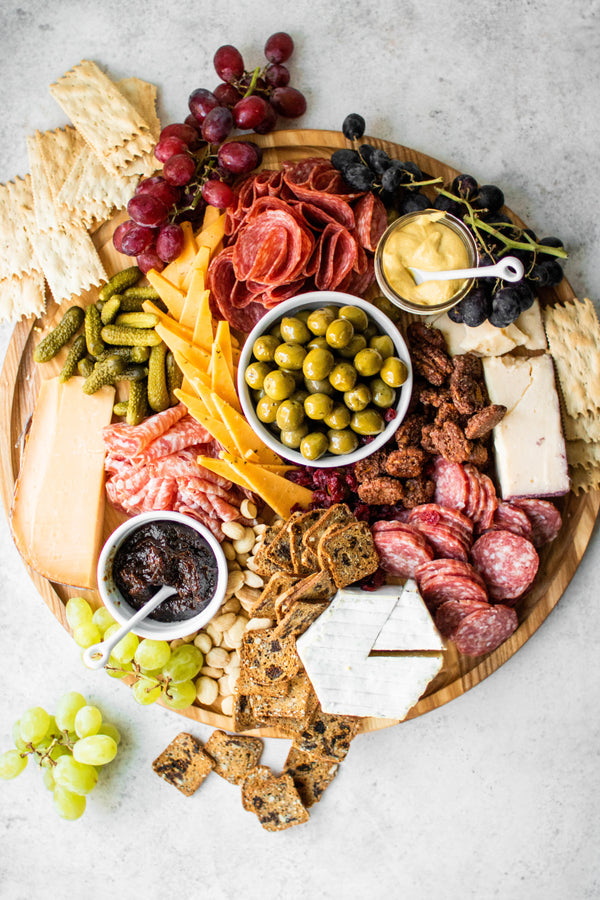 How to Build an Epic Cheese + Charcuterie Board