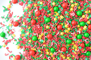 Candy Cane Lane Sprinkle Blend