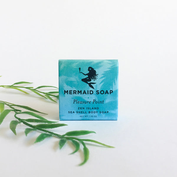 Zen Island Seashell Mermaid Soap