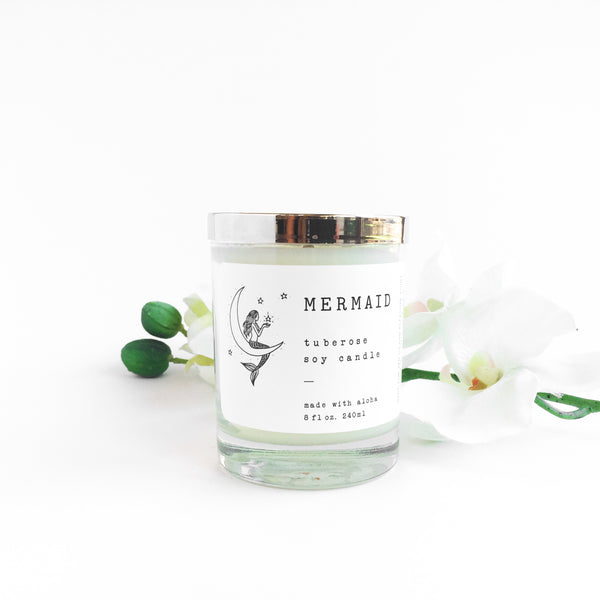Mermaid Moon Soy Candle