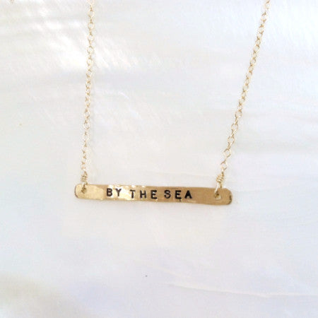 Gold By the Sea Necklace
