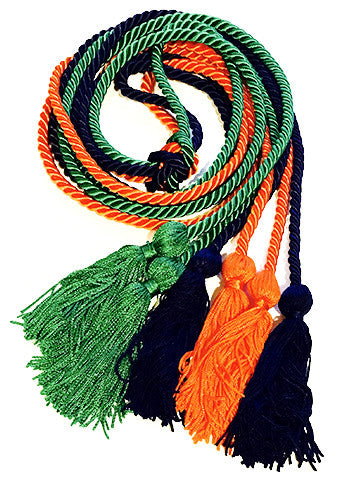 Triple Graduation Honor Cords