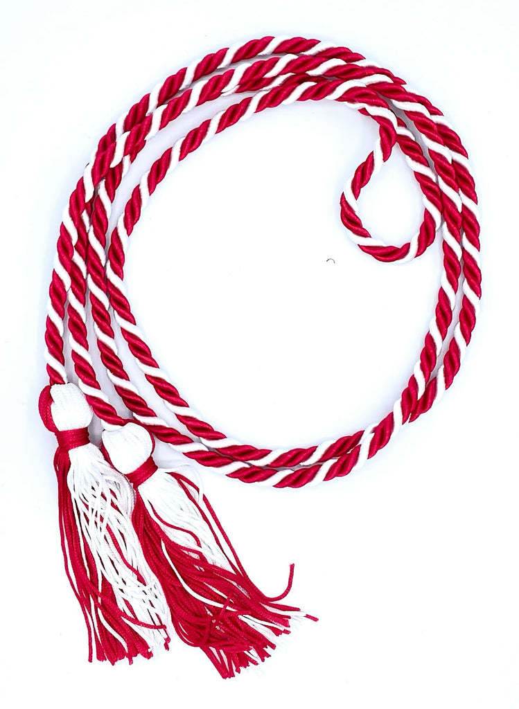 Red/White Honor Cords