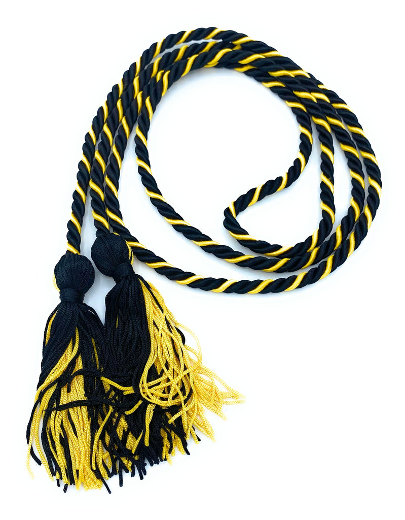 Black/Gold Honor Cords