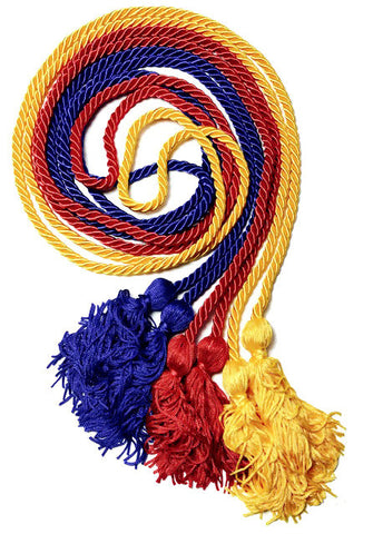 Single Graduation Honor Cords (21 Colors Available)