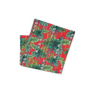 SOTÉ Neck Gaiter (Green Flower)