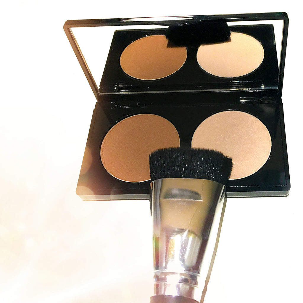 THE Contour and Hi Light Duo-New!  Available with Brush or Without Brush BRUSH BACK IN STOCK!