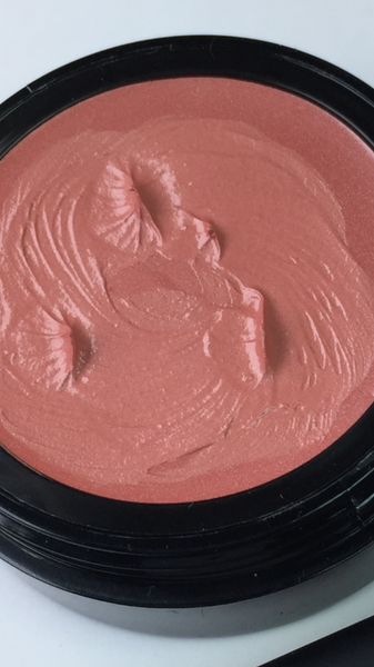 "Cream Blush With Sheer Shimmer For Face and Lips in ""FLAUNT"""
