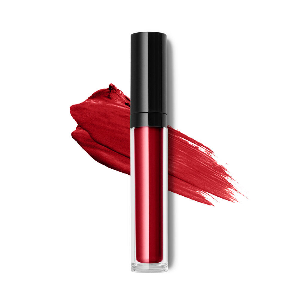 'Red She Said'  Liquid to matte lip color- mask-friendly and does not dry out your lips! NEW!!