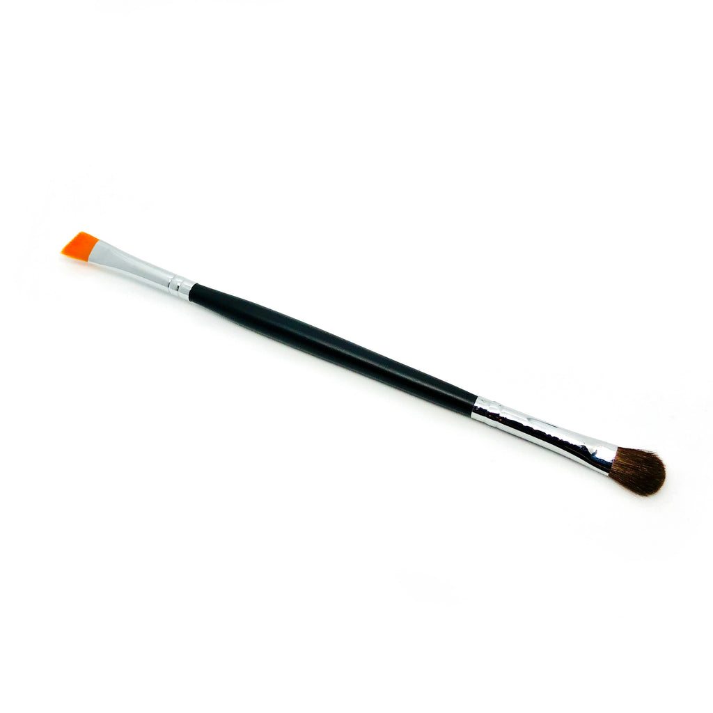 Eye Shadow and Eye Shadow Liner Brush Duo