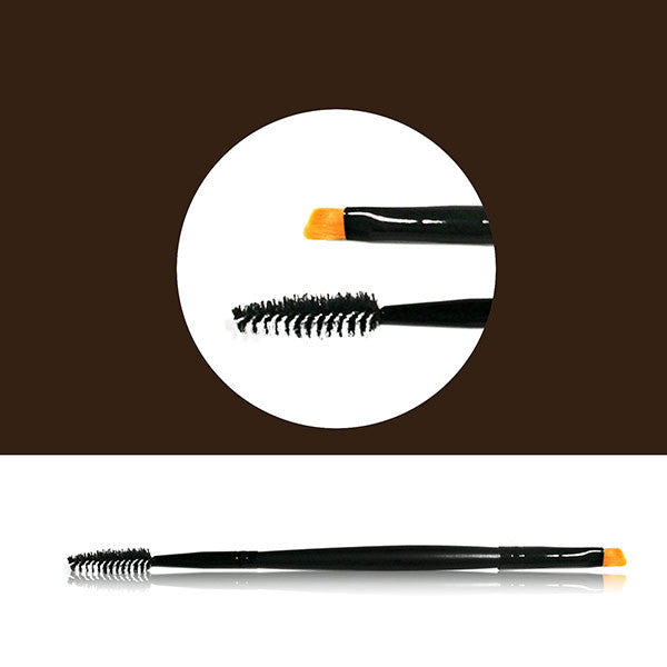 Dual Ended Brow Brush By Cat Cosmetics
