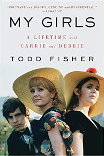 Autographed and Personalized Paperback Copy of Best Selling Book  'MY GIRLS'  by TODD FISHER