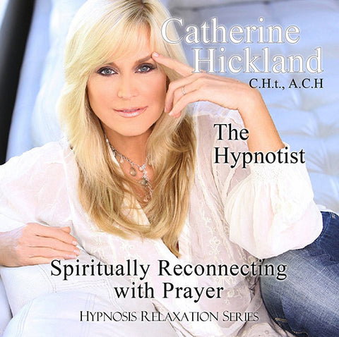 Spiritual Reconnecting With Prayer Hypnosis CD By Cat Cosmetics