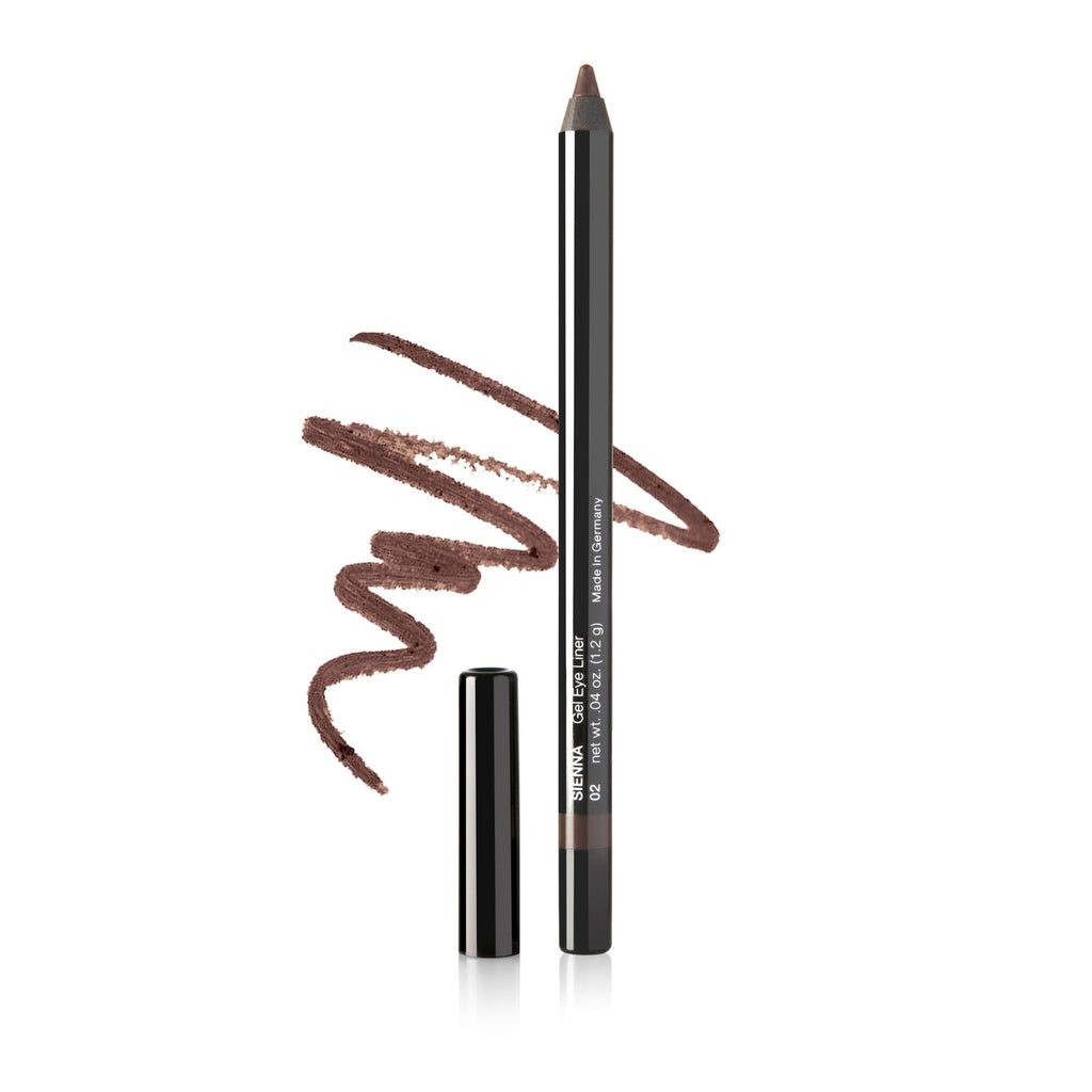 GEL EYE LINER PENCIL IN SIENNA