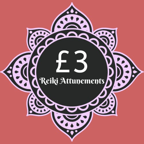 £3 Reiki Attunements