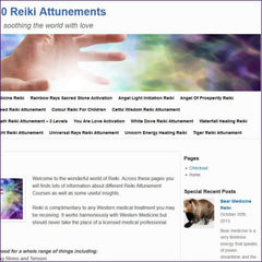 80 Reiki Attunements + Website
