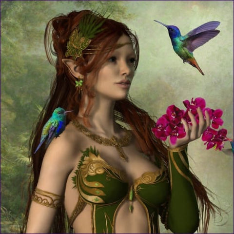 Faery Realm of Goddess Morrigan Le Fey Empowerment