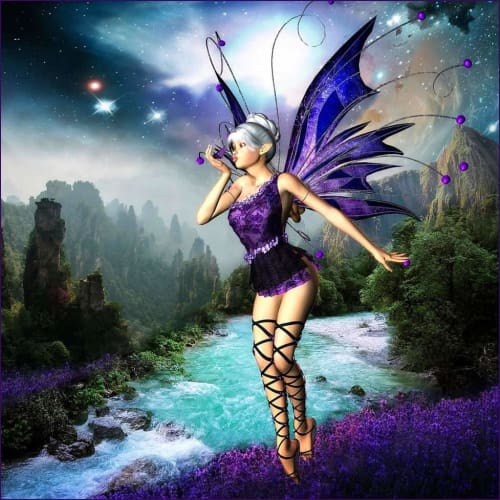 Fairies of Prosperity and Happiness Reiki