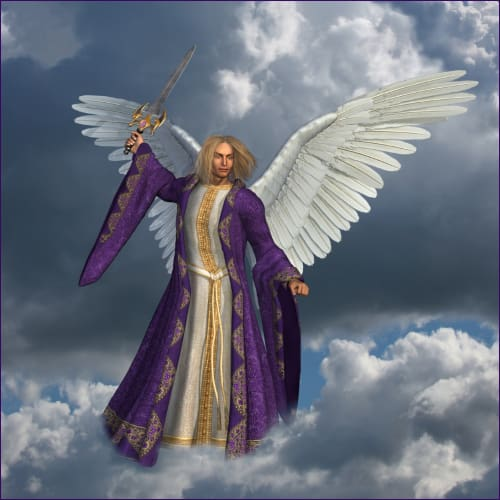 Healing with The Purple Light of Archangel Michael Reiki