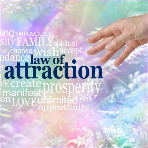 Powerful Law of Attraction White Spell Flush Reiki