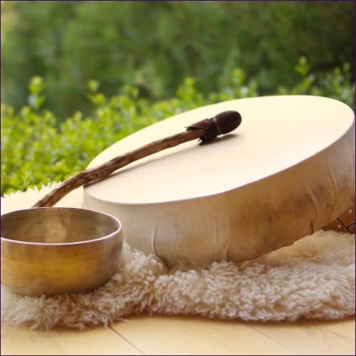 Shaman Magical Drums Flush Reiki