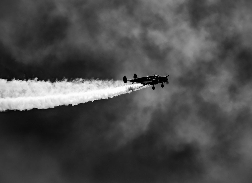 Beechcraft Model 18 Aircraft Photo Print | Tyler Thomason Photography