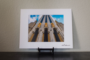 Boston Avenue Methodist Church Matted Print