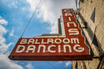 Tulsa's Historic Cain's Ballroom Sign | Tyler Thomason Photography