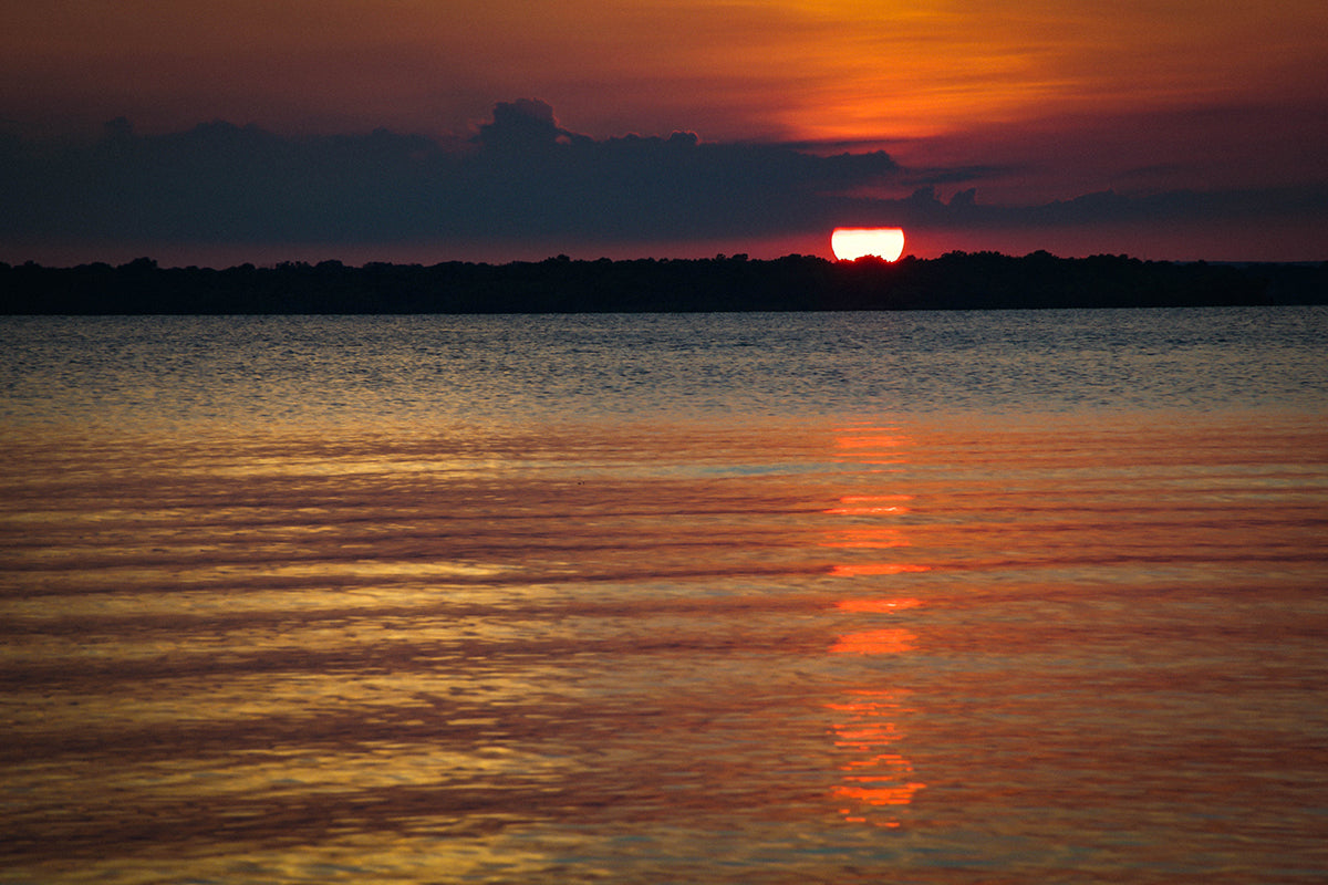 Lake Eufaula Sunset Photo Print | Tyler Thomason Photography